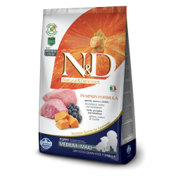 N&D  LAMB&BLUEBERRY PUPPY MEDIUM&MAXI 12kg