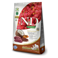 N&D Quinoa Skin & Coat Venison 7kg
