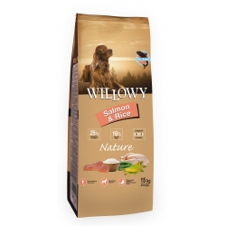 Willowy Nature Adult Salmon & Rice 15kg