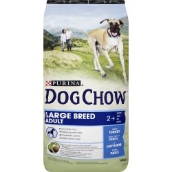 Purina Dog Chow Adult Large Breed z indykiem 14kg